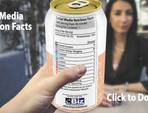 Social Media Management Nutrition Facts