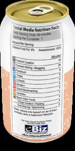Social Media Presence Nutrition Facts - Dubai Website Development - Digital Marketing Agancy